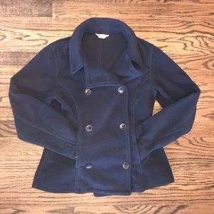 Girls Lands End Kids Pea Coat